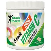 Витамины Stark Pharm - Vitamin C 1000 мг (200 таблеток) (аскорбиновая кислота)