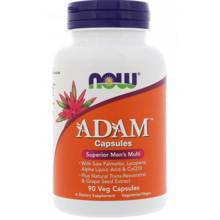Витамины для мужчин Now Foods - Adam Superior Men's Multi (90 капсул)