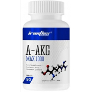 Аргинин IronFlex - A-AKG MAX 1000 (90 таблеток)