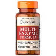 Комплекс энзимов Puritan's Pride - Multi-Enzyme Formula (100 таблеток)