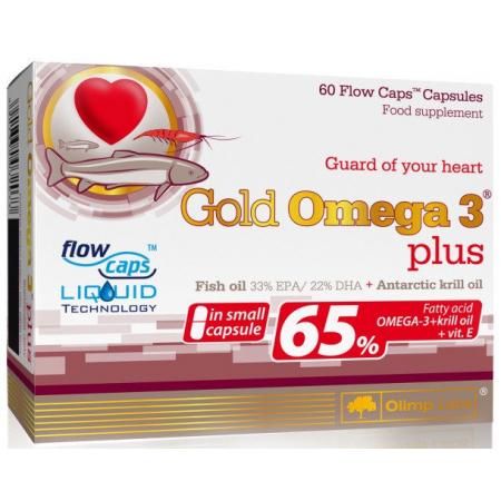 Омега Olimp Labs - Gold Omega 3 Plus (60 капсул)