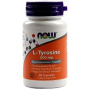 Тирозин Now Foods - L-Tyrosine 500 мг