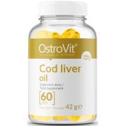 Омега OstroVit - Cod Liver Oil (60 капсул)