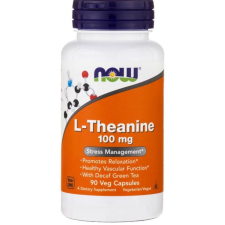 Релаксант Now Foods - L-Theanine 100 мг (90 капсул)
