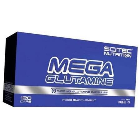 Глютамин Scitec Nutrition - Mega Glutamine (120 капсул)