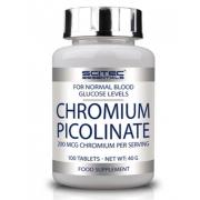 Блокатор жиров Scitec Nutrition - Chromium Picolinate 200 мкг (100 таблеток)