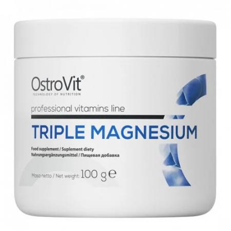 Магний OstroVit - Triple Magnesium (100 грамм)