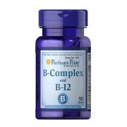 Комплекс витаминов Puritan's Pride - B-Complex and B-12