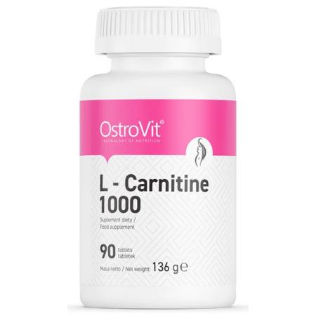 Карнитин OstroVit - L-Carnitine 1000 (90 таблеток)