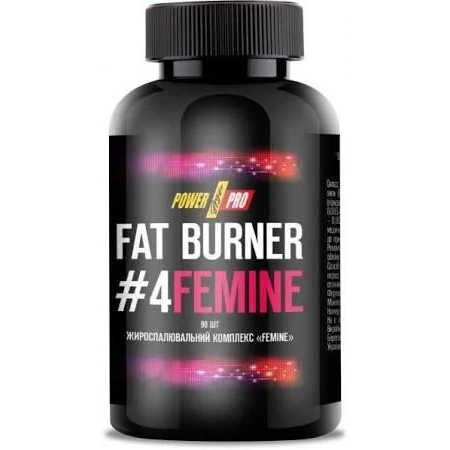 Жиросжигатель Power Pro - Fat Burner FEMINE (90 капсул)