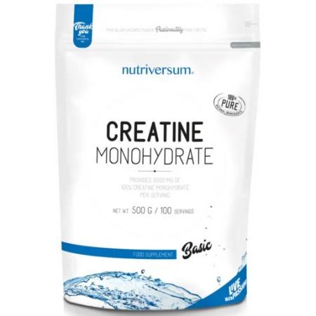 Креатин Nutriversum - Creatine Monohydrate Basic (500 грамм)