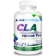 Жиросжигатель AllNutrition - CLA + L-Carnitine + Green Tea (120 капсул)