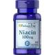 Ниацин Puritan's Pride - Niacin 100 мг (100 таблеток)