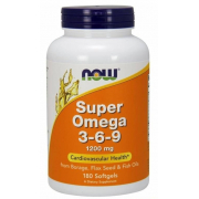 Омега Now Foods - Omega 3-6-9 1200 мг (180 капсул)