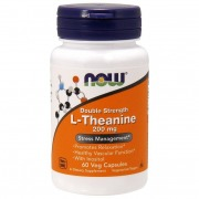 Релаксант Now Foods - L-Theanine 200 мг (60 капсул)