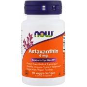 Антиоксидант Now Foods - Astaxanthin 4 мг (60 капсул)