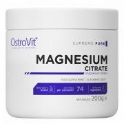 Магния цитрат OstroVit - Magnesium Citrate (200 грамм)