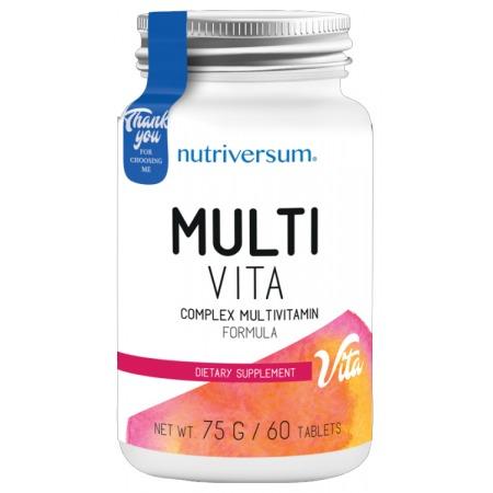 Мультивитаминный комплекс Nutriversum - Multi Vita (60 таблеток)