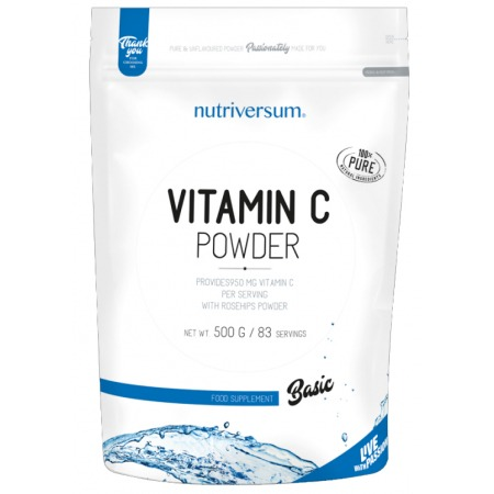Витамины Nutriversum - Vitamin C Powder (500 грамм)
