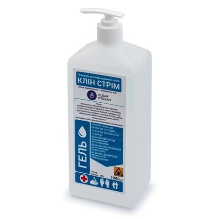 Дезинфицирующее средство Clean Stream (1000 мл) (гелевая форма)