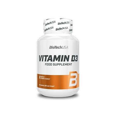 Витамины BioTech - Vitamin D3 50 мкг (60 капсул)