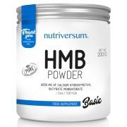 Аминокислоты Nutriversum - HMB Basic (200 грамм)