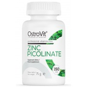 Цинк OstroVit - Zinc Picolinate (150 таблеток)