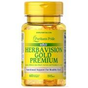 Комплекс для глаз Puritan's Pride - Herbavision Gold Premium (60 капсул)