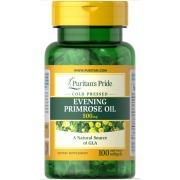 Гамма-линоленовая кислота Puritan's Pride - Evening Primrose Oil 500 мг (100 капcул)
