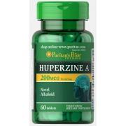 Стимуляция мозга Puritan's Pride - Huperzine A 200 мг (60 таблеток)