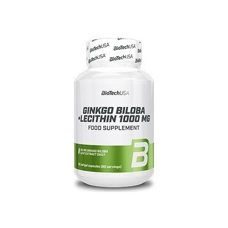 Ясность мышления BioTech - Ginkgo Biloba + Lecithin (90 капсул)