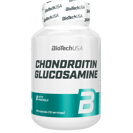 Хондропротектор BioTech - Chondroitin Glucosamine (60 капсул)