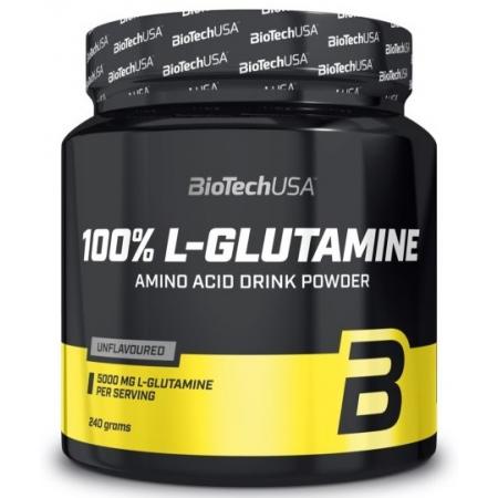 BioTech - 100% L-Glutamine (500 гр) (банка)