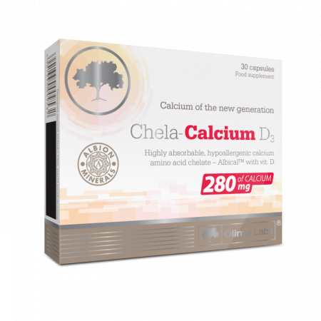Кальций Olimp Labs - Chela-Calcium D3 (30 капсул)