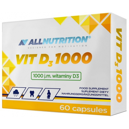 Витамины AllNutrition - Vit D3 1000 (60 капсул)