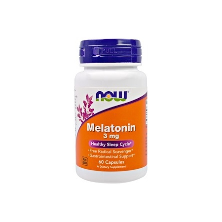 Мелатонин Now Foods - Melatonin 3 мг (сон и режим)