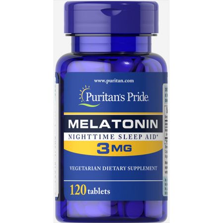 Мелатонин Puritan's Pride - Melatonin 3 мг