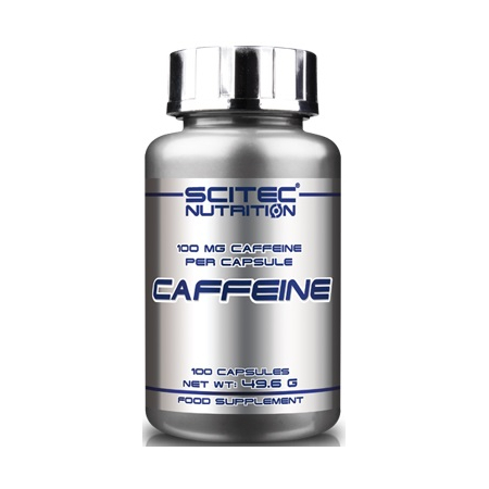 Кофеин Scitec Nutrition - Caffeine 100 мг (100 капсул)