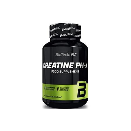 Креатин BioTech - Creatine pH-X (90 капсул)