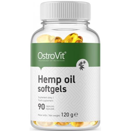 Конопляное масло OstroVit - Hemp Oil (90 капсул)