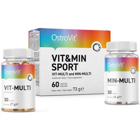 Витамины и минералы OstroVit - Vit & Min Sport (60 капсул)