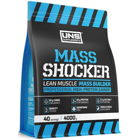 Гейнер UNS - Mass Shocker (4000 грамм)