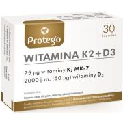 Витамины Salvum Lab - Witamina K2 + D3 (30 капсул)