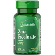 Цинк Puritan's Pride - Zinc Picolinate 25 мг (100 капсул)