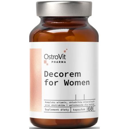 Витаминно-минеральный комплекс для женщин OstroVit - Decorem for Women (60 капсул)