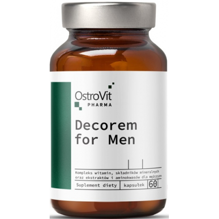 Витаминно-минеральный комплекс для мужчин OstroVit - Decorem for Men (60 капсул)