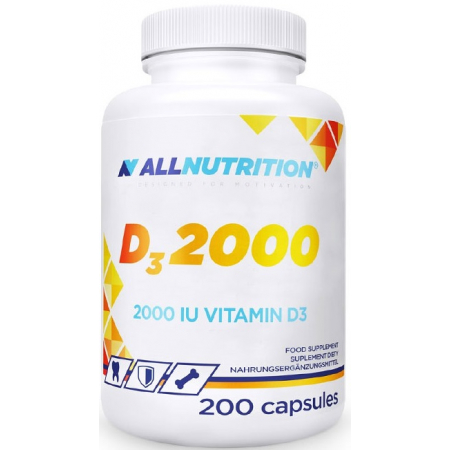 Витамины AllNutrition - D3 2000 (200 капсул)