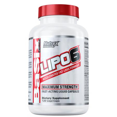 Жиросжигатель Nutrex Research - Lipo-6 Maximum Strength (120 капсул)***