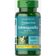 Адаптоген Puritan's Pride - Ashwagandha Extract 500 мг (60 капсул)