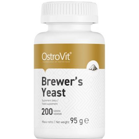 Для кожи и волос OstroVit - Brewer's Yeast (200 таблеток)